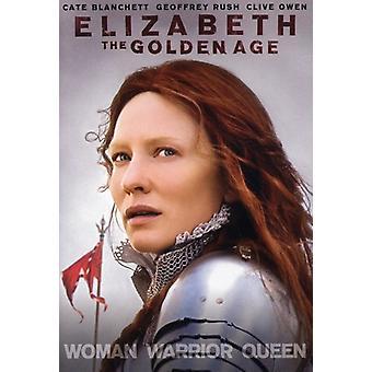 Elizabeth: Guldalder [DVD] USA importen