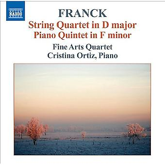 C. Franck - Franck: String Quartet; Piano Quintet [CD] USA import