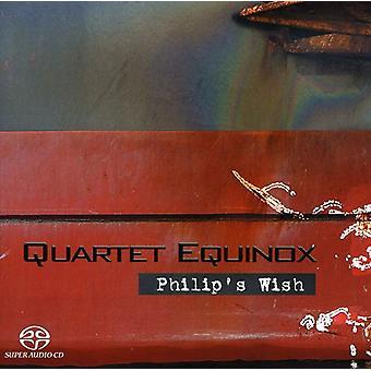 Quartet Equinox - importation USA souhait [CD] de Philip