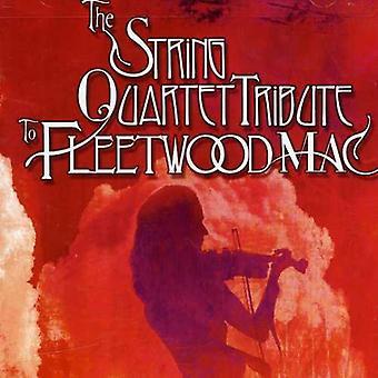 Tribute to Fleetwood Mac - The String Quartet Tribute to Fleetwood Mac [CD] USA import