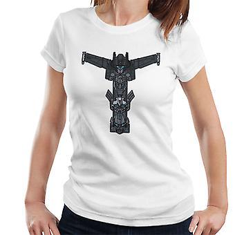 Autobot Totem Transformers Optimus Prime Bumblebee Ironhide Women's T-Shirt