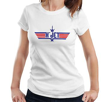 Top Gun Logo X Jet X Men Women's T-Shirt