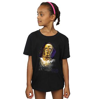 حرب النجوم البنات جدي آخر ج-3PO نحي تي شيرت