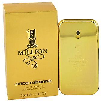 Paco Rabanne 1 Million Eau De Toilette 50 ml EDT Spray