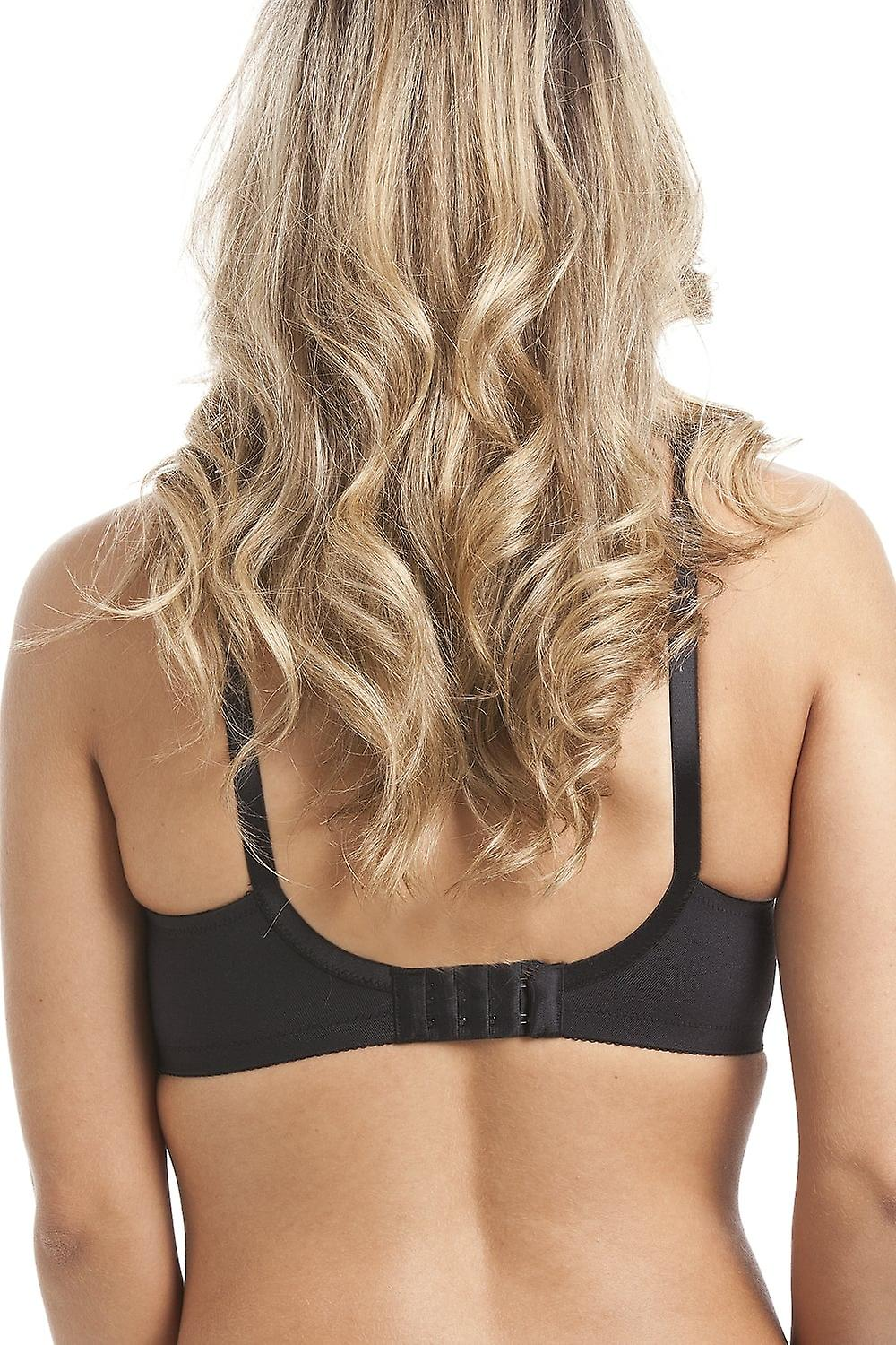 Royce Lingerie Black Full Cup Non Wired T-Shirt Bra