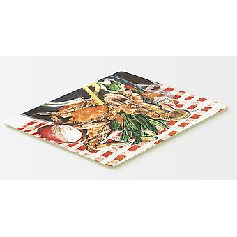 Carolines Treasures  8537CMT Crab Boil Kitchen or Bath Mat 20x30