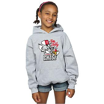 Tom And Jerry Girls Cat & Mouse Chase Hoodie