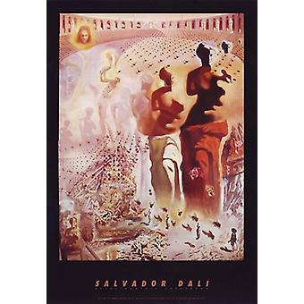 Hallucinogene Toreador c1970 plakat Print af Salvador Dali (22 x 32)