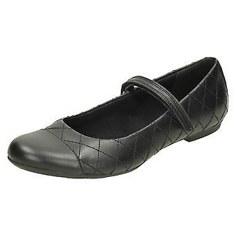 Senior meisjes Bootleg door School Clarks schoenen Kimberly Gem