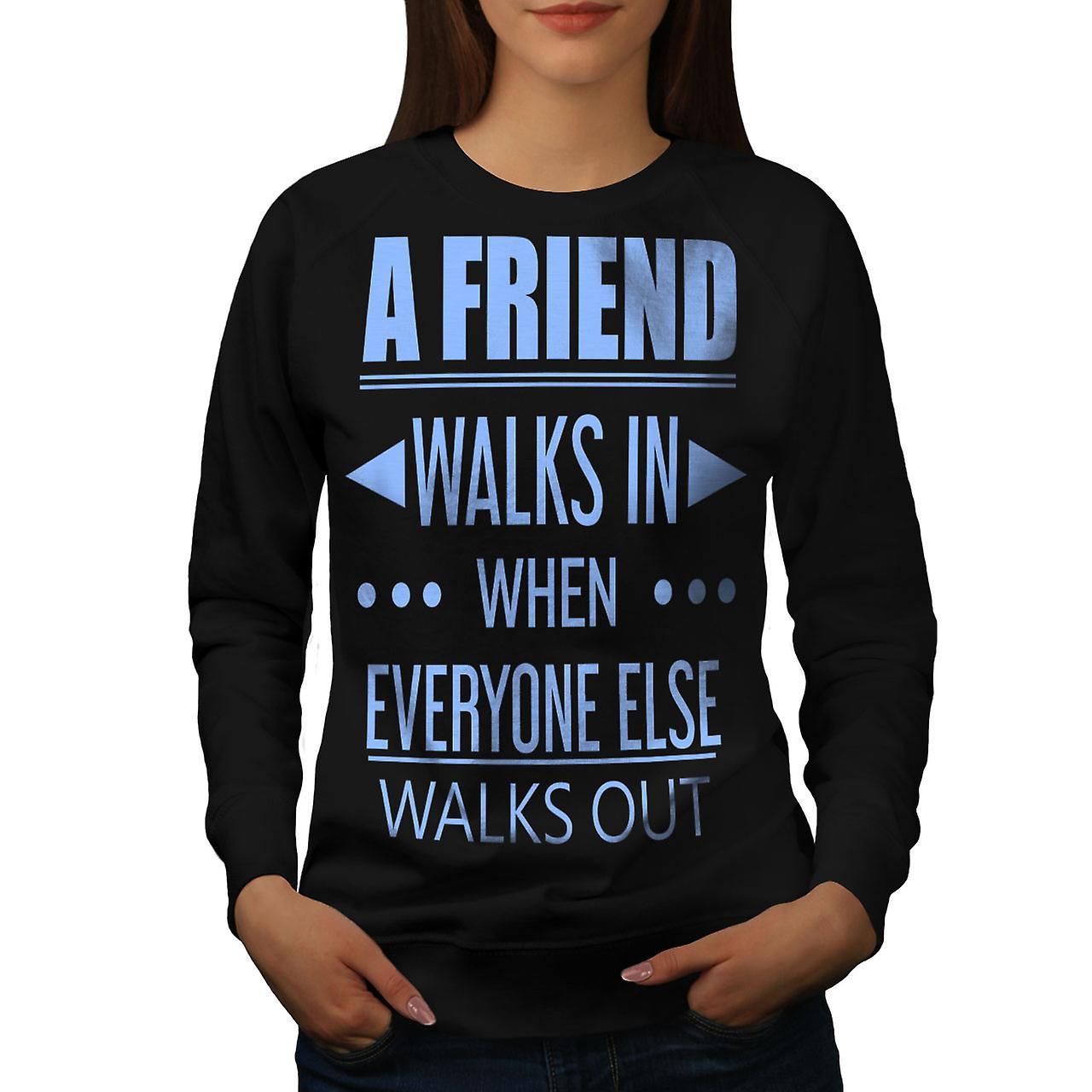 Ami sortent en BlackSweatshirt femmes | Wellcoda