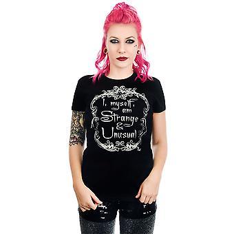 Too fast - strange & unusual - women's baby doll t-shirt