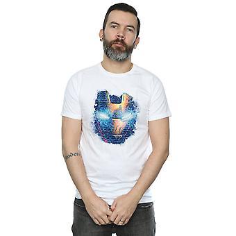 Marvel Men's Iron Man Distressed Head T-Shirt