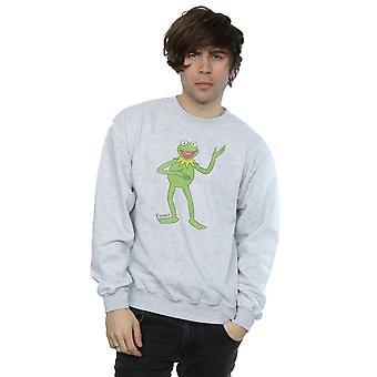 Disney Men's The Muppets Classic Kermit Sweatshirt