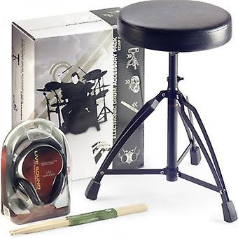 Stagg Drum Throne cuffie Stick Pack