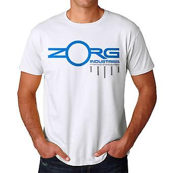 The Fifth Element Zorg Weapon Systems Men's White T-shirt