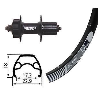 Bike parts 26″ wheel Rodi M 460 disc + Shimano alivio 6-hole 8-10-fold (QR)