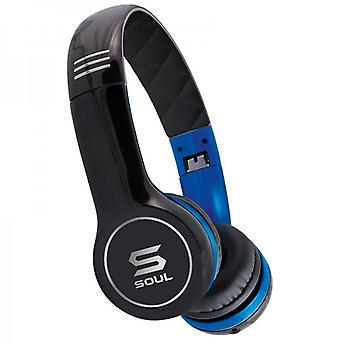SOUL SL100UB headphones on ear Blau