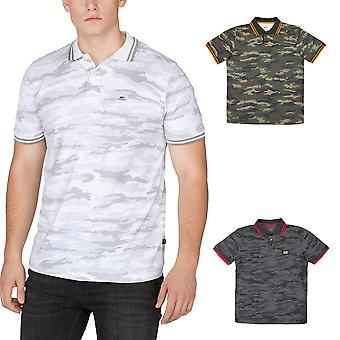 Alpha industries men's polo shirt twin Stripe Camo