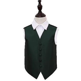 Donker groene Griekse belangrijke bruiloft vest voor jongens
