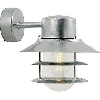 Nordlux Blokhus 25051031 buitenwand licht energiebesparende lamp, LED (monochroom) E-27 60 W staal