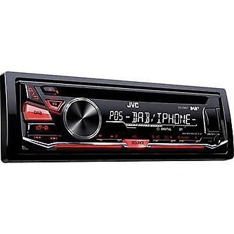 JVC KD-DB67E Car stereo DAB+ tuner, incl. DAB antenna, Steering wheel RC button connector