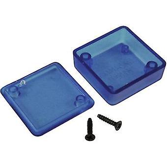 Hammond Electronics 1551RTBU Universal caja 50 x 50 x 20 acrilonitrilo-butadieno-estireno azul (transparente) 1 PC