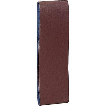 Brüder Mannesmann 12355 Sandpaper belt set Grit size 60, 120 (L x W) 533 mm x 75 mm 1 Set
