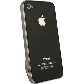 5 Pack -Lightweight Aluminum Bumper for Apple iPhone 4/4S, includes stylus. Dark Grey