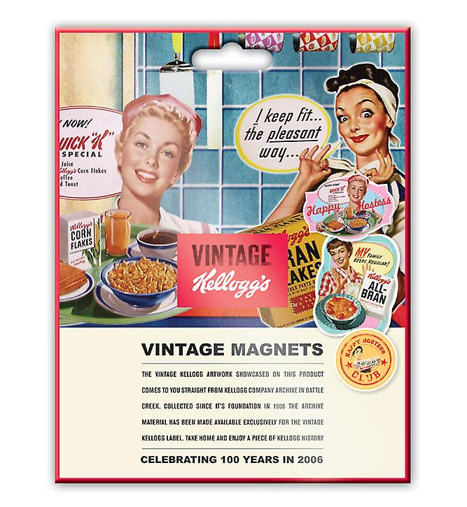 Bonne Hôtesse Aimants vintage Kellogg