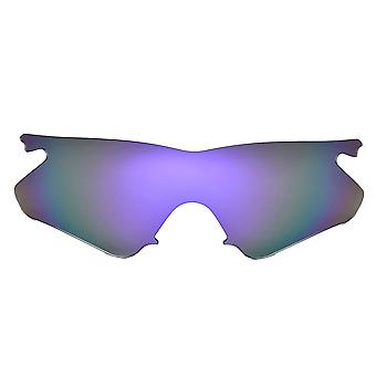 SEEK Lenses Compatible for Oakley M Frame Heater Polarized Purple Mirror