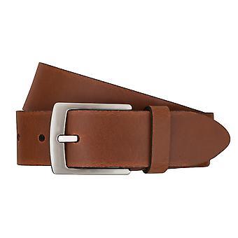 BERND GÖTZ belts men's belts leather belt Cognac 7477
