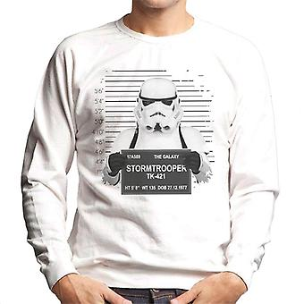 Original Stormtrooper Polizei Mugshot Herren Sweatshirt