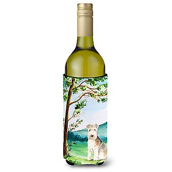 Under the Tree Lakeland Terrier Wine Bottle Beverage Insulator Hugger
