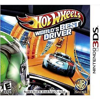 Hot Wheels Worlds Melhor Motorista (Nintendo 3DS) - Como novo