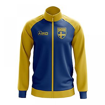 Ruotsi käsite jalkapallo Track Jacket (Sky)