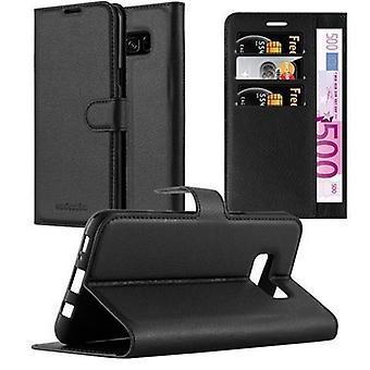 Cadorabo Hülle für Samsung Galaxy S8 PLUS Case Cover - Handyhülle mit Magnetverschluss, Standfunktion und Kartenfach – Case Cover Schutzhülle Etui Tasche Book Klapp Style