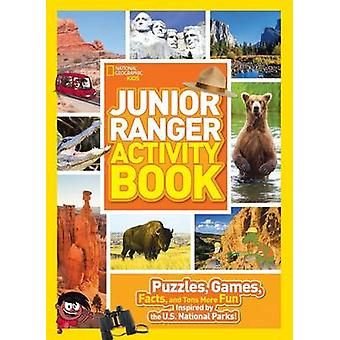 Junior Ranger Activity Book - Puzzles - Games - Facts - and Tons More