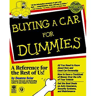 Buying a Car For Dummies by Deanna Sclar - 9780764550911 Book