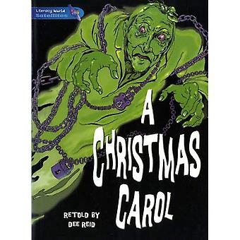 A Christmas Carol: Roman graphique: Etape 4: roman 2 (alphabétisation mondiale Satellites)