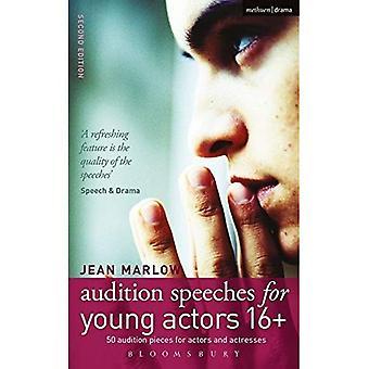 Audition anföranden för unga skådespelare 16 +