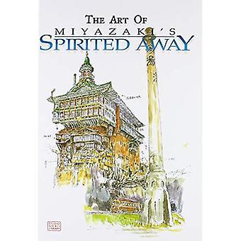 El arte de Miyazaki de Chihiro (biblioteca de Ghibli del estudio)