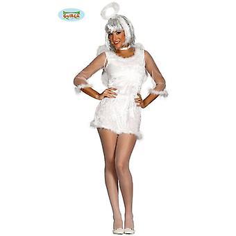 Sexy înger cu aripa costum pentru femei