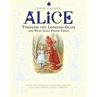 À travers le miroir et ce qu'Alice qui s'y trouvent