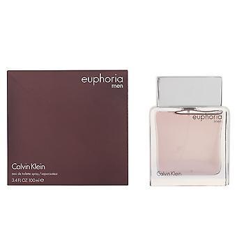 Calvin Klein Euphoria Men Edt Spray 100 Ml per gli uomini