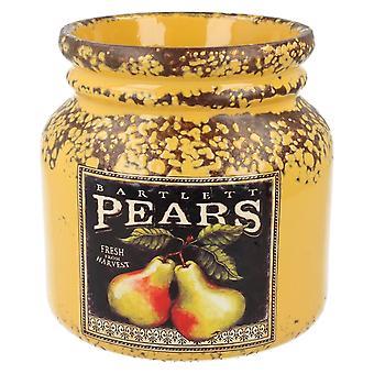 Geringerer & Pavey Früchte ernten Runde Glas