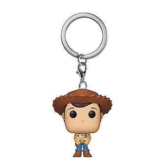 Funko POP sleutelhanger-Toy Story Woody collectible figuur