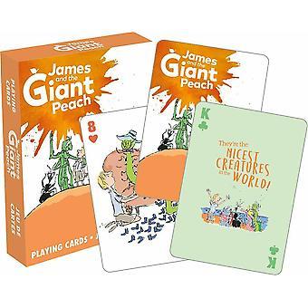 Roald Dahl James och den jätte persika kortleken 52 (nm)