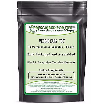 Veggie Caps-100% cápsulas vegetarianas-tamanho