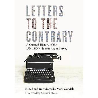 Letters to the Contrary - A Curated History of the UNESCO Human Rights