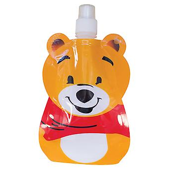 Yellowstone 375ml Kids Folding Water Bottle with Carabina Clip